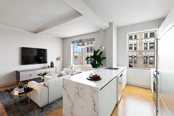 Corner One Bedroom With River Views | Upper West Side